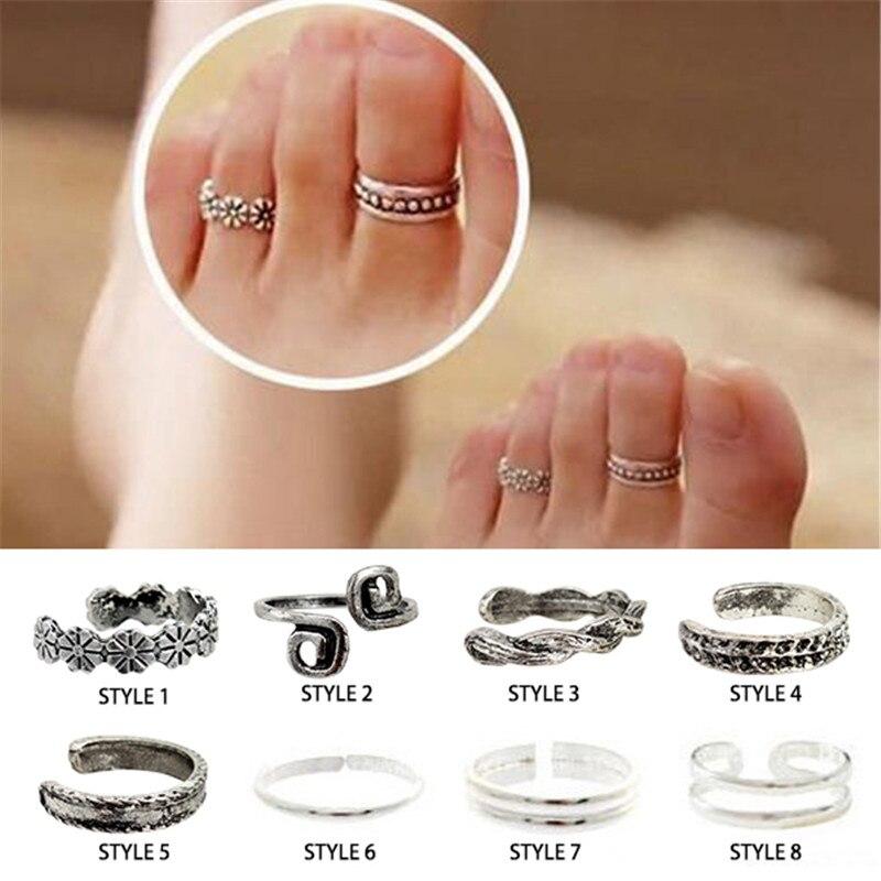 Foot Toe Ring Jewelry Beach Jewelry Vogue Adjustable Nice Chic