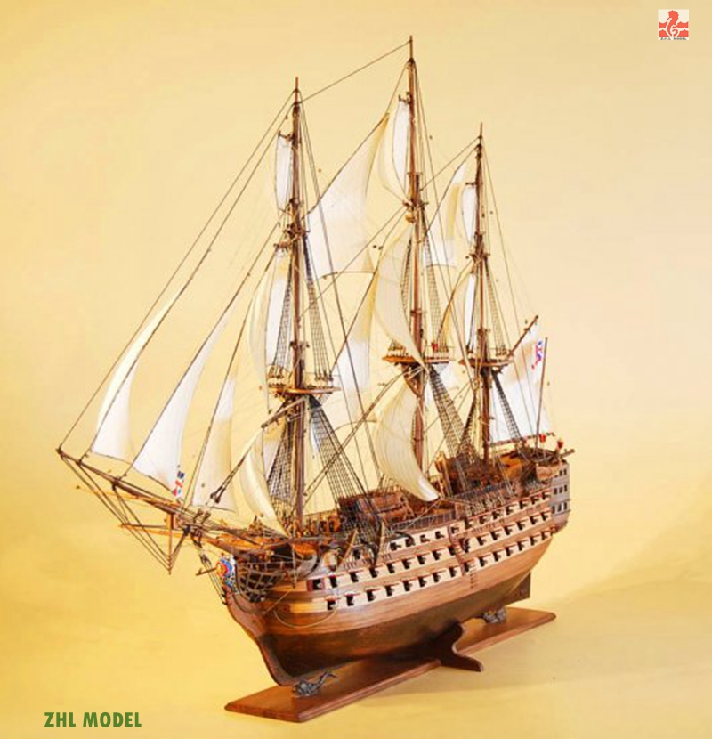 ZHL Victory model ship wood