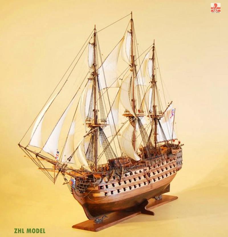 ZHL Victory Model Ship Wood