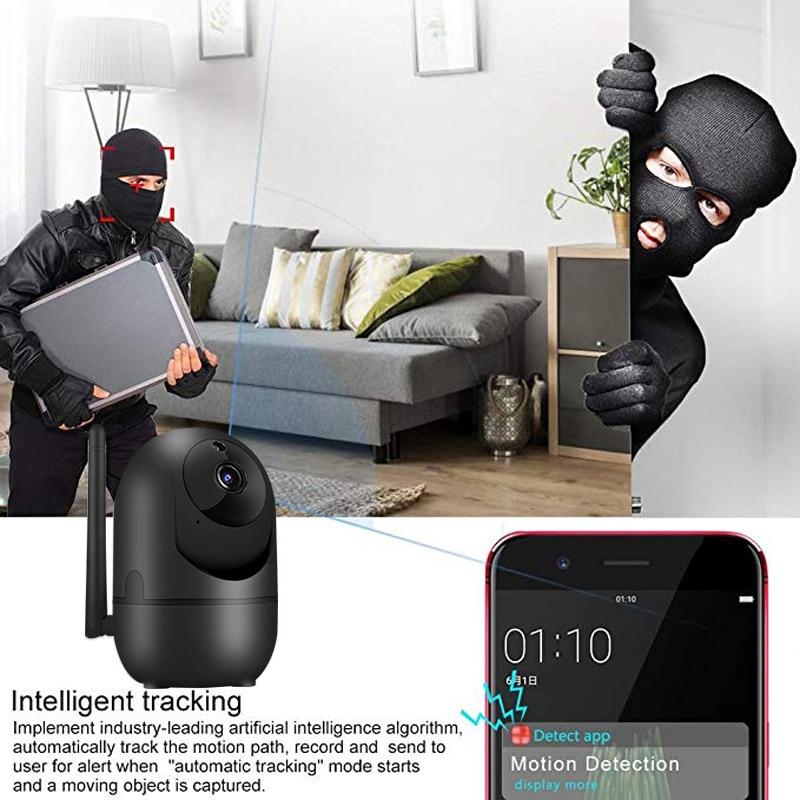 HTB10GSFc21H3KVjSZFBq6zSMXXaK wdskivi Auto Track 1080P IP Camera Surveillance Security Monitor WiFi Wireless Mini Smart Alarm CCTV Indoor Camera YCC365 Plus