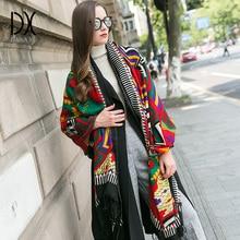 Foulard dhiver pour femmes et hommes, foulard général, en laine épaissie, unisexe, pour cou, garçon et fille, nouvelle mode 2019