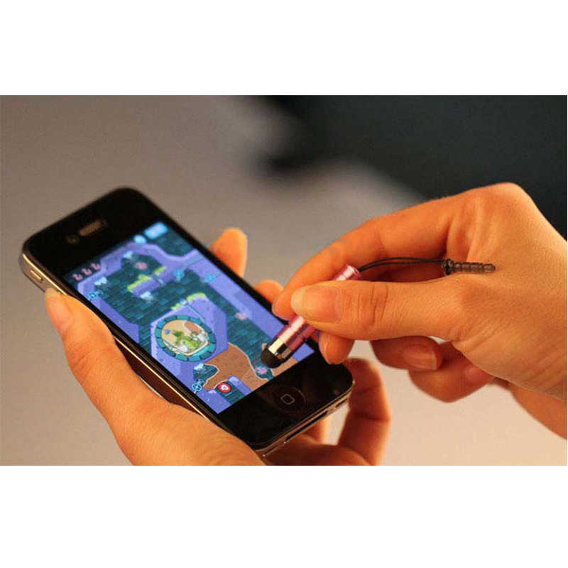 وحي القلم ستايلس ل بالسعة اللمس لمس الشاشة ل فون 5 ثانية 6 ثانية ال جي جميع الهواتف المحمولة قلم المثلث 2 في 1 الغبار التوصيل