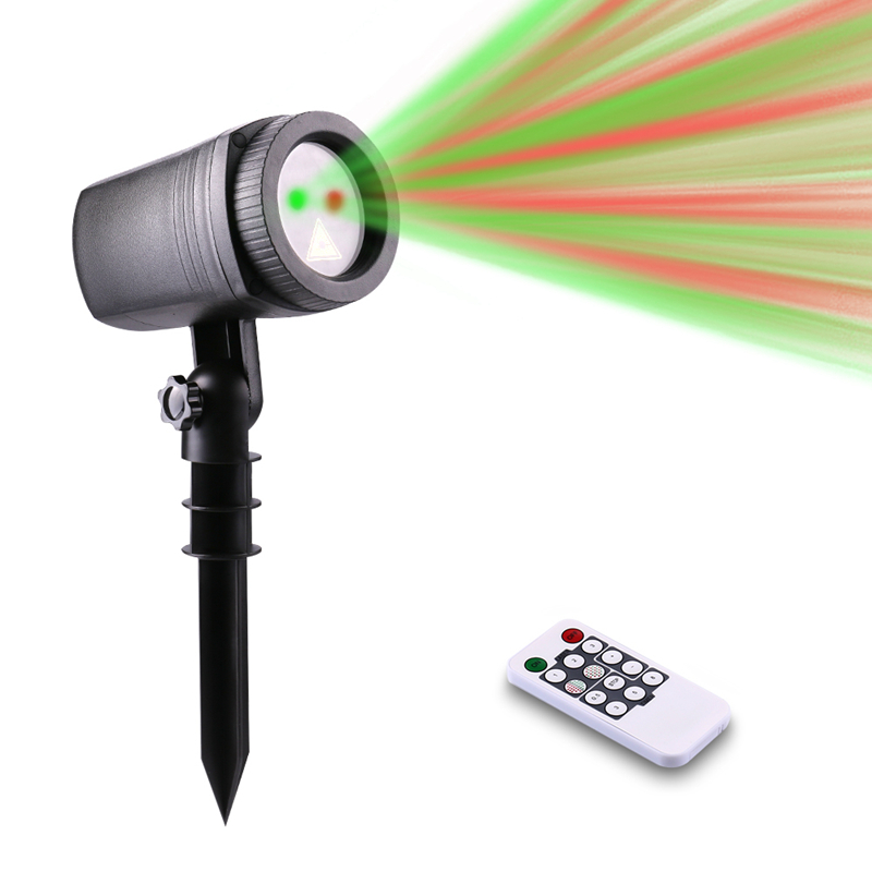 20 Patterns RF Remote Outdoor Laser light Red Green Laser Christmas Projector IP65 Waterproof Xmas Garden Decoration Stage Light beautiful alumium ip67 outdoor eu us uk plug tree garden party festival christmas decoration green red mini led laser light
