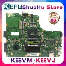 KEFU Pour ASUS K55VM K55VJ K55V R500V REV.2.0/2.1/2.2/2.3 GT630M/GT635/2G carte mère d'ordinateur portable testé 100% travail carte mère d'origine