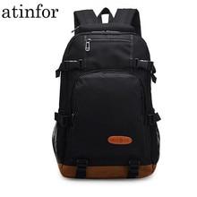 Waterproof Cool Backpack Men Bagpack High Middle School Student Bookbag Black School Bag for Teenagers Boys Girl