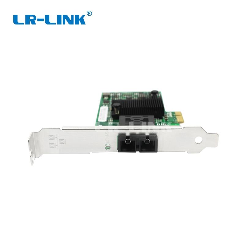 Image 2 - LR LINK 6220PF LX gigabit ethernet PCI Express адаптер для сетевой карты волоконно оптический для ПК intel 82575EB NIC-in Сетевые карты from Компьютер и офис