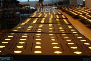 Image 5 - 4Pcs/Lot36x3W LED Matrix Light LED RGB 3IN1 Flat Flood Lights DMX512 Sound Control DJ Party Disco Club Bar Stage Effect Lighting