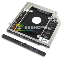 Laptop 2nd HDD SSD Caddy Second Solid State Hard Disk Enclosure Optical Bay for Sony Vaio Fit Series 15e 15 14 14e 13a 14a Case