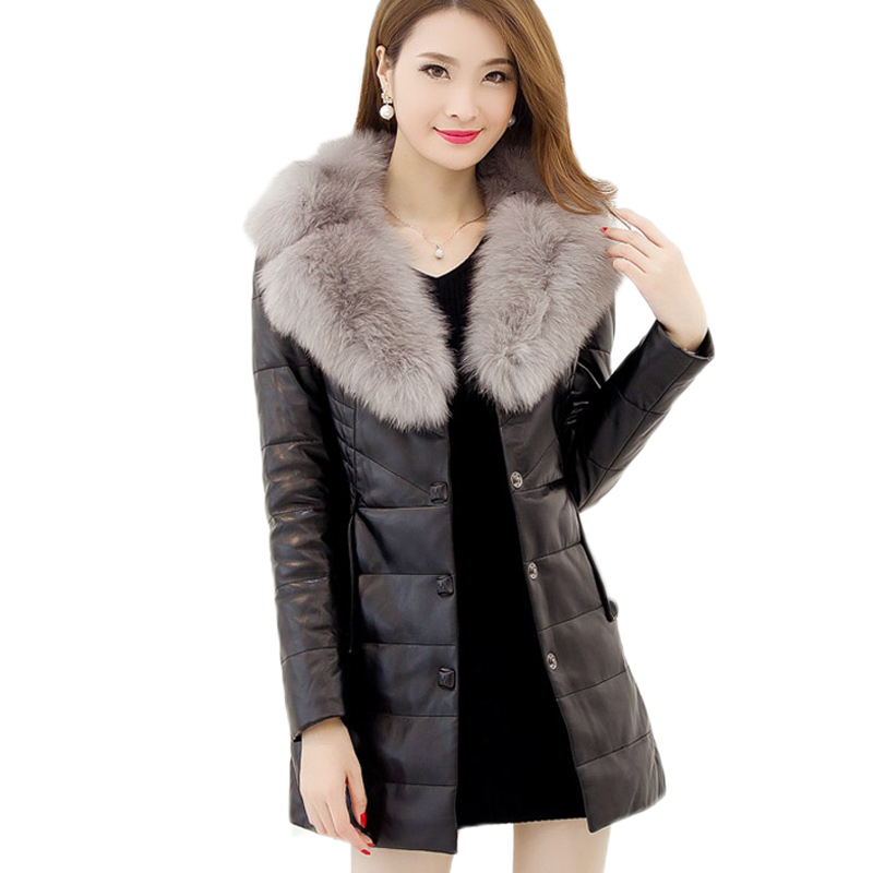 Cheap jacket women, Buy Quality plus jacket directly from China warm leather jacket Suppliers: Warm Leather Jackets Women Color Block Lady Leather Coat Plus Size 4XL 5XL Female Brief Lapel Coat Embroidery Sleeve Enjoy Free Shipping Worldwide! Limited Time Sale Easy Return.