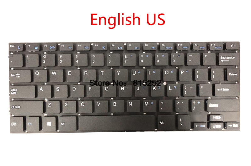 Laptop Keyboard For EPIK ELL1401 ELL1401BK 14
