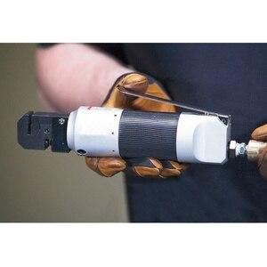 Image 4 - 1 adet hava ile çalışan pnömatik Punch aracı çinko alaşım pnömatik Punch aracı kenar ayarlayıcı Panel flanş 5Mm yumruk araba
