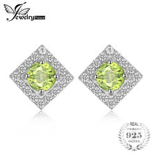 fb47eea77f10 Promoción de Natural Peridot Silver 925 Earrings - Compra Natural ...