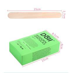 100 шт высокого качества сырье дерево материал удаление волос Восковая Палочка деревянные восковые Аппликаторы инструмент