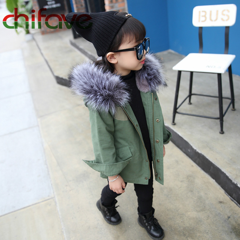 chifave-New-Winter-Children-Warm-Cotton-Coat-Suit-for-Unisex-Kids-Hooded-Fur-Collar-Zipper-Thick-Outerwear-Baby-Boys-Girls-Parka-3