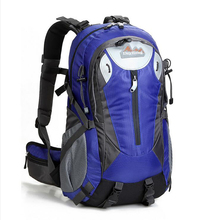Outdoor Backpack Sports Bag Hiking Cycling Bag Climbing 40L Lightweight Waterproof Travel Backpack Big Load Knapsack Rucksack