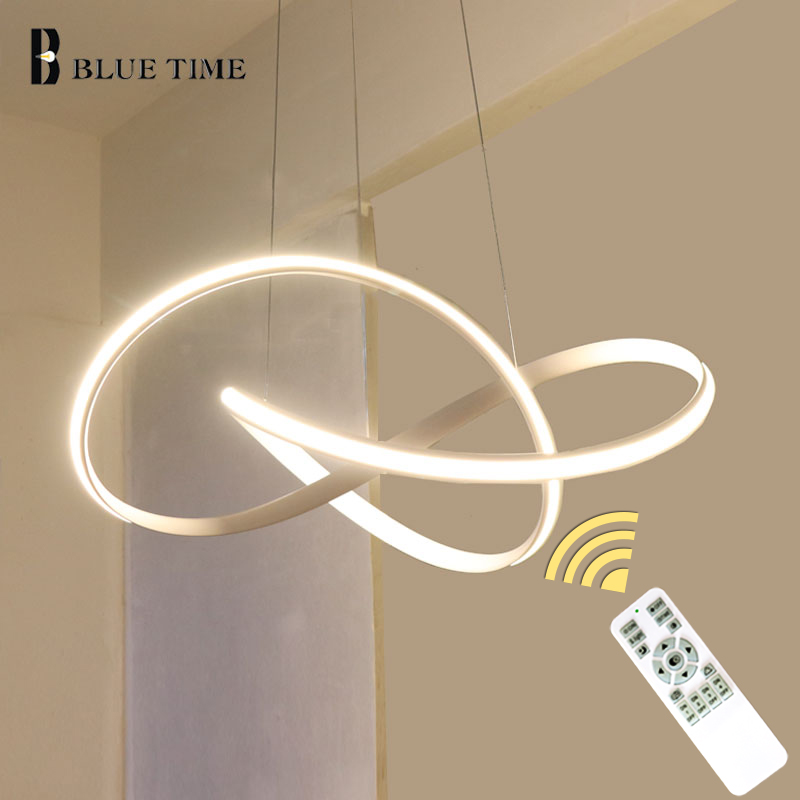 トップ販売アイテム白黒ゴールド現代の Led シャンデリアリビングルーム寝室 Led シャンデリア照明器具 AC110V 220 V  グループ上の ライト & 照明 からの シャンデリア の中 1