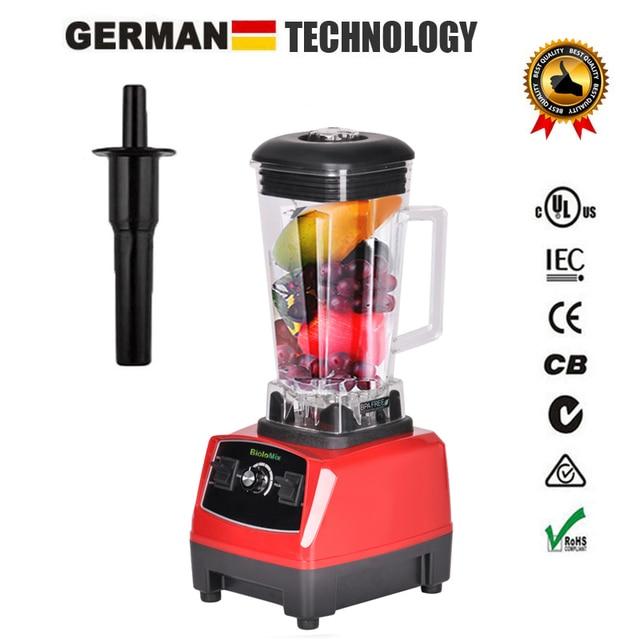 BPA Free 3HP 2200W Heavy Duty Commercial Grade Blender Mixer Juicer High Power Food Processor Ice Smoothie Bar Fruit Blender 3