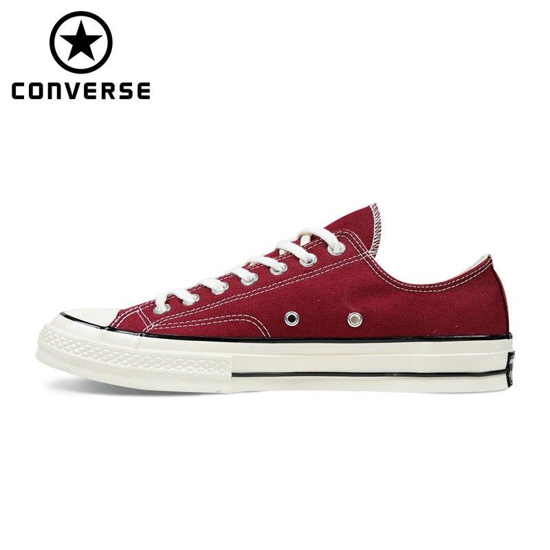 Новый патрон 70 оригинальные Converse в винтажном стиле 1970 s обувь для мужчин и женщин Мужская кроссовки Классические Скейтбординг обувь 162059C