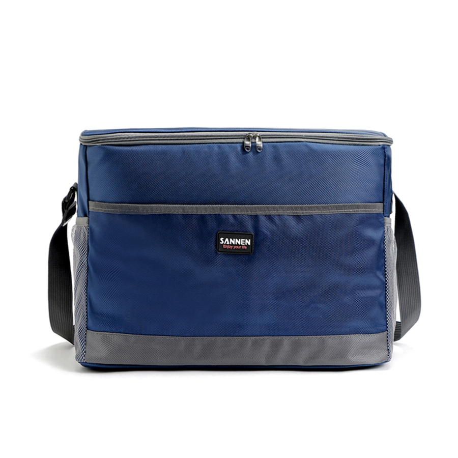 Thermal Cooler Insulated Waterproof Lunch Box Picnic Bag Large Volume Waterproof Fabric insulated Cooler Bags