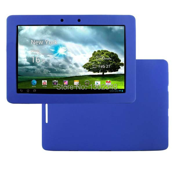 """New Anti-skid Soft Matte Silicon Rubber Skin Shell Cover Case for Asus Transformer Pad TF300T TF300 TF301 TF300TG 10.1"""" Tablet"""