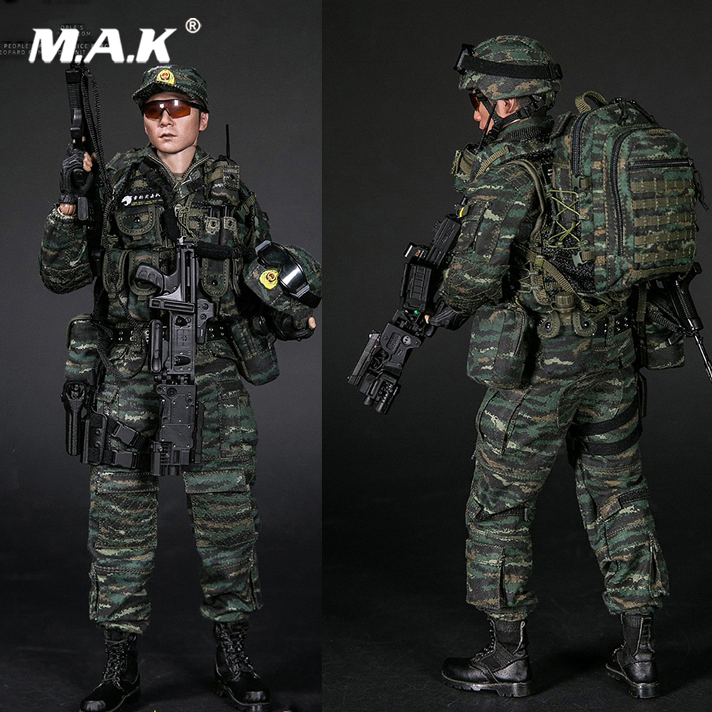 For Collection 1/6 Full Set Military Soldier Chinese Armed Police Force Snow Leopard Commando Team Figure 78052 for Fans GiftsFor Collection 1/6 Full Set Military Soldier Chinese Armed Police Force Snow Leopard Commando Team Figure 78052 for Fans Gifts