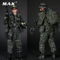 For Collection 1/6 Full Set Military Soldier Chinese Armed Police Force Snow Leopard Commando Team Figure 78052 for Fans Gifts
