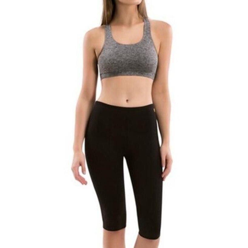 2018 Hot Body Shapers Womens Thermal Slimming High-Waist Capris Slimming Pants Slimming Shorts Hot Neoprene Sweat Sauna Shapers