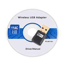 600M AC Wireless USB WiFi Adapter 2.4+5.8Ghz Dual Band USB Wifi Antenna External Network Card Adaptador Wi Fi Receiver