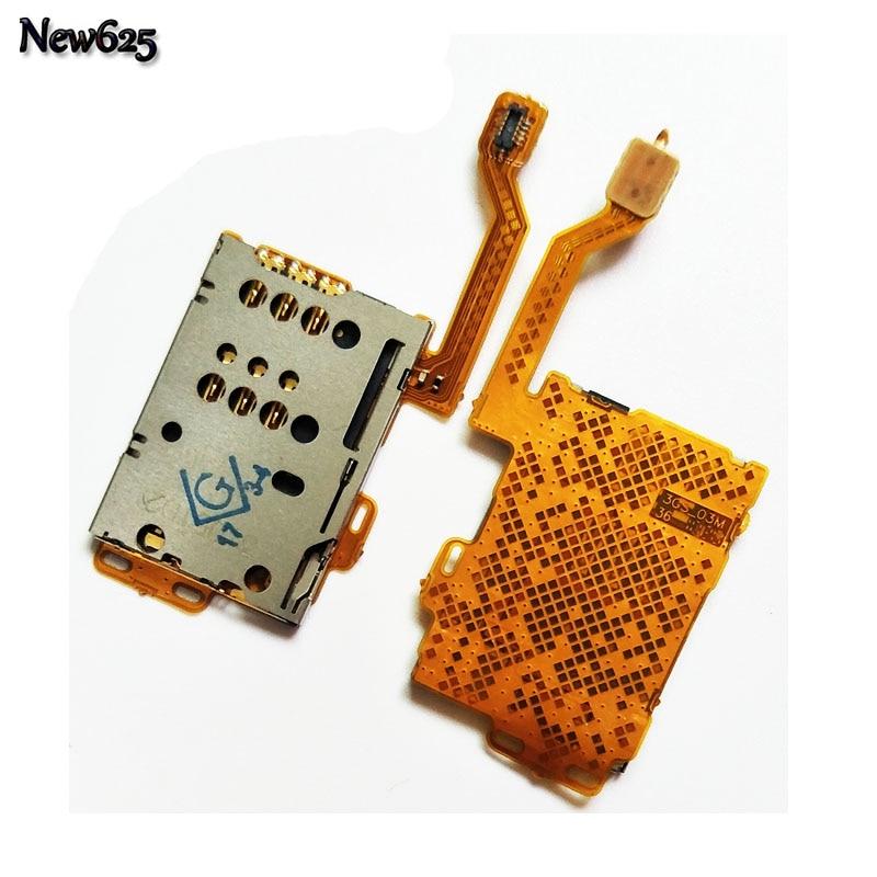 Новые sim-карты держатель Слот <font><b>Flex</b></font> ленточный кабель Ремонт Часть Для Nokia C7 кабель мобильного телефона