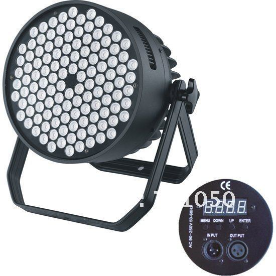 120x3W High Power RGBW LED Par 64,LED Stage Light,LED Par Can,LED Par Fixture with free shipping (CL-021B)