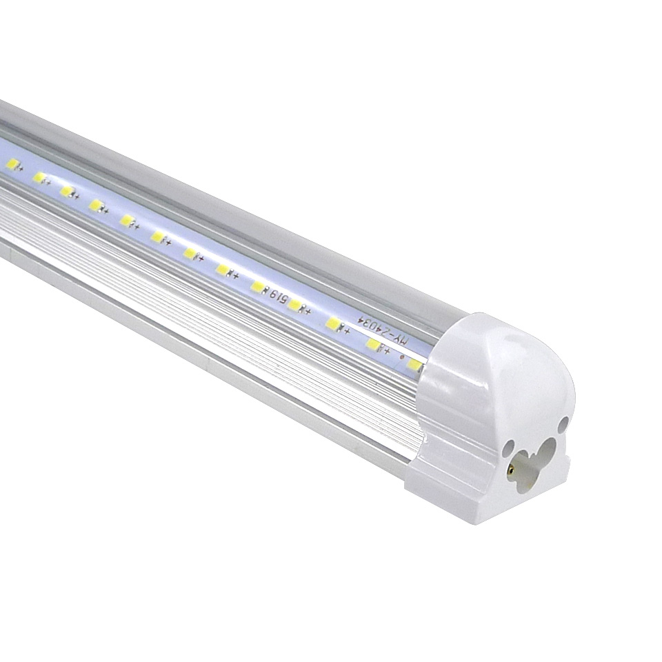 25pcs V Shape T8 Led Tube 4ft 6ft 8ft Integrated