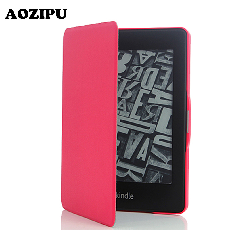 Protective Flip PU Leather Case Cover For Amazon Kindle Paperwhite 1 2 3th Generation 6inch 6 Tablet eBook eReader Cases case cover for kindle paperwhite 123 ebook pu leather folio flip smart sleep wake up protective case cover vintage texture