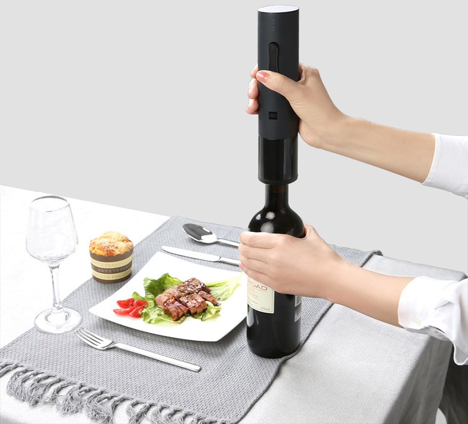 Xiaomi HUOHOU Electric Automatic Wine Bottle O p e n e r (2)