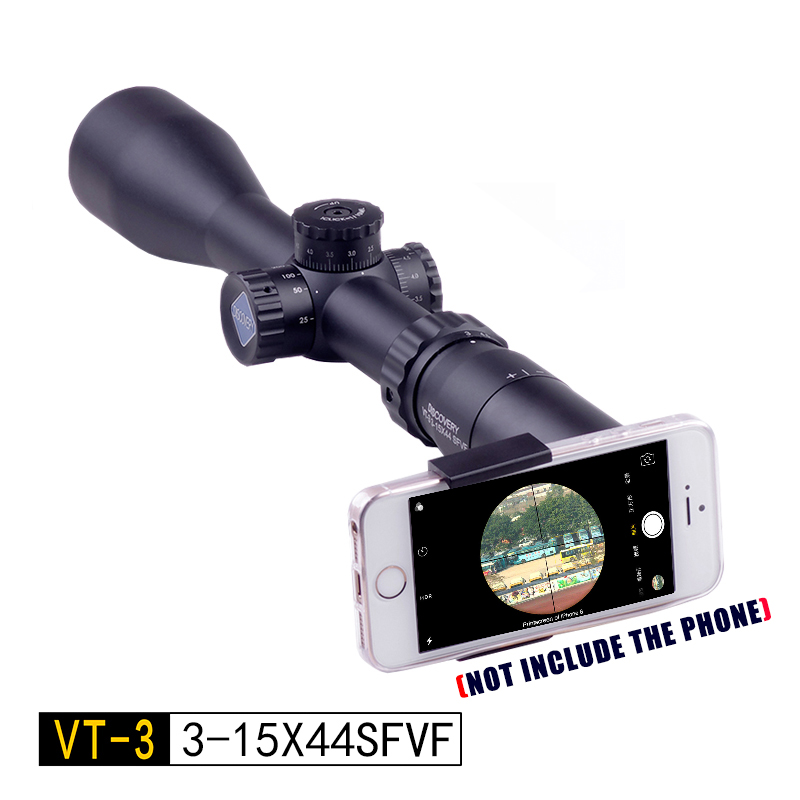 NEW Optic Sight Discovery VT-3 3-15X44SFVF Outdoor Hunting Traveling Rifle Monocular Telescope Coordinate Gun Accessories