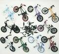 10 unids un conjunto nuevo Finger Flick Trix Bmx Bicicleta bicicleta de Aleación modelo Mini juguete para niño de coleccionista paquete