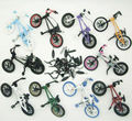 10pcs a set brand new Flick Trix Bmx Finger Bike Alloy model bicycle Mini toy for boy collector's pack