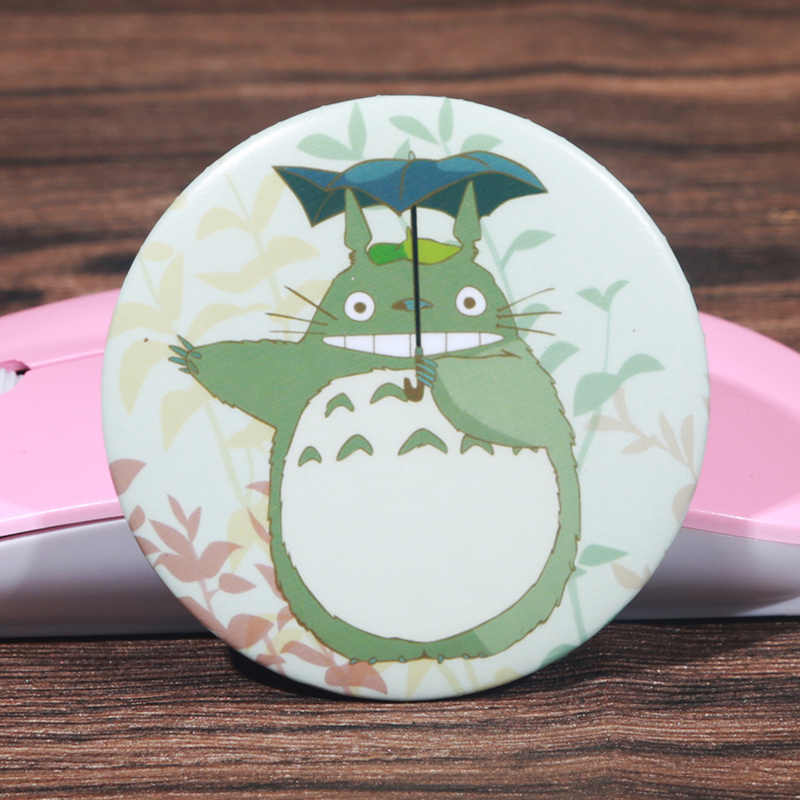 FFFPIN 5.8cm Big Japan Anime Cloth Brooch Fashion Large Cartoon Coin Badge Breastpin Ornament Pins Totoro Cosplay Home Decor