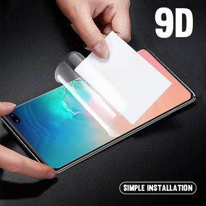 Image 3 - 9D Full Cover For Samsung Galaxy Note20 S10E S20 Plus Ultra Screen Protector Hydrogel Front Film + Back Film + Camera Lens Glass