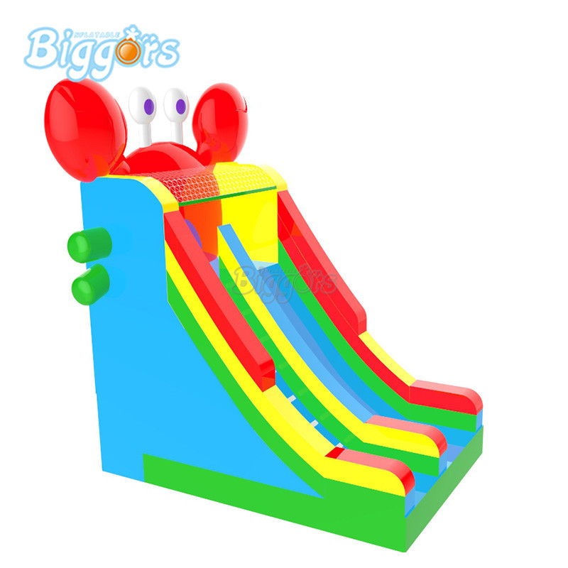 Hot Sell Inflatable crab slide inflatable bouncy slide for sale free shipping pvc material inflatable baby bouncers hot sale 3 75x2 6x2 1 meters small mini bouncy castles for outdoor toys