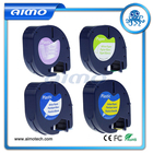 4pcs mixed order 12mm compatible letratag tape 12267 91200 91201 91202 for dymo label printer made in china hot sell