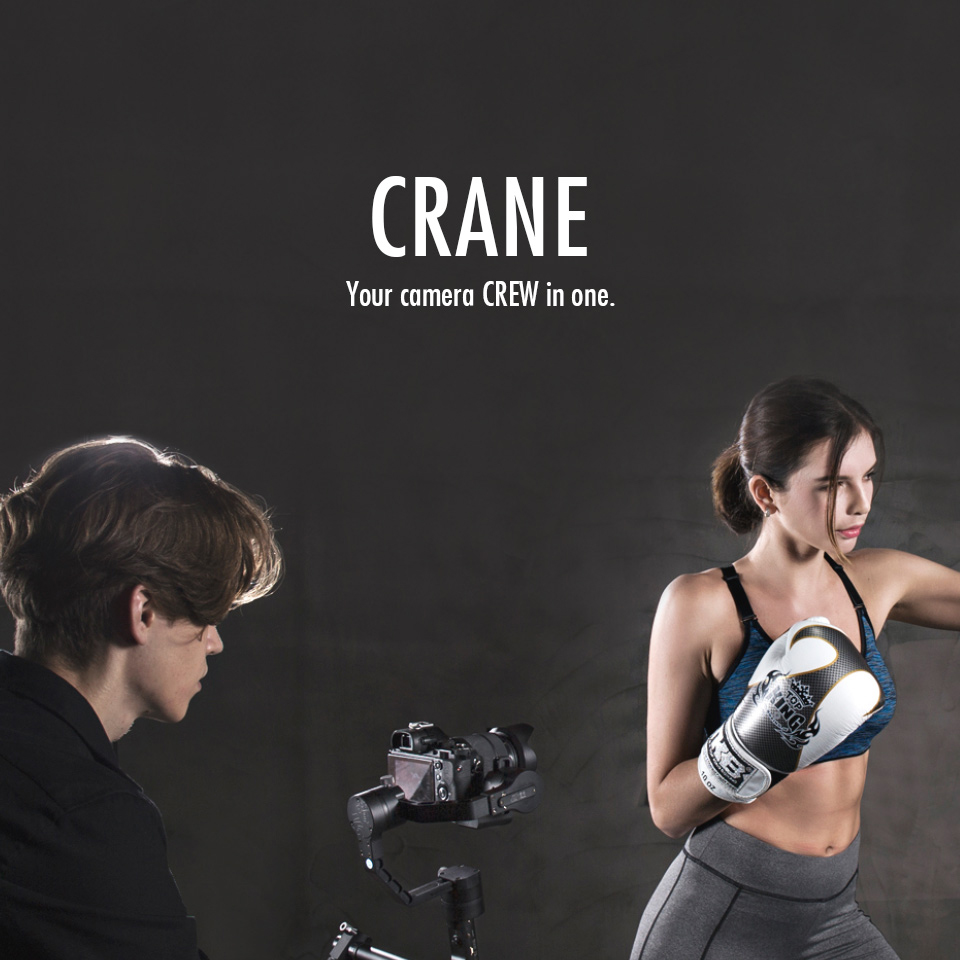 ZHIYUN Official Crane V2 3-Axis Brushless Handheld Gimbal Stabilizer KitONE