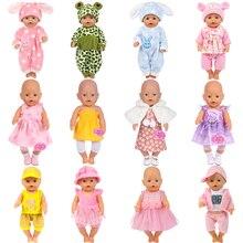 15 Conjuntos de ropa para muñecas de 40 cm
