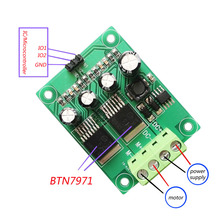 цена на BTN7971 DC motor drive module/board H-bridge high power, CW/CCW, brake PWM speed control