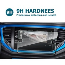 RUIYA Закаленное стекло Защитная пленка для Volkswagen vw T-Roc Discover Media 8 дюймов экран, 9 H анти-пятно и устойчивость к царапинам