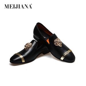 Image 4 - Meijiana mocassins masculinos de couro, mocassins casuais para homens, sapatos da marca luxuosos para dirigir