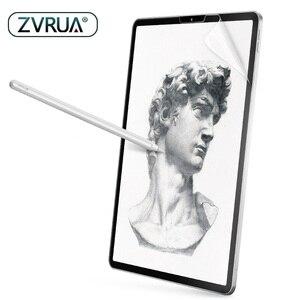 Защитная пленка для экрана, как бумага, матовая, Антибликовая, для Apple iPad 9,7 Pro 10,5, Face ID 11 12,9 дюйма 2018 2020 10,2