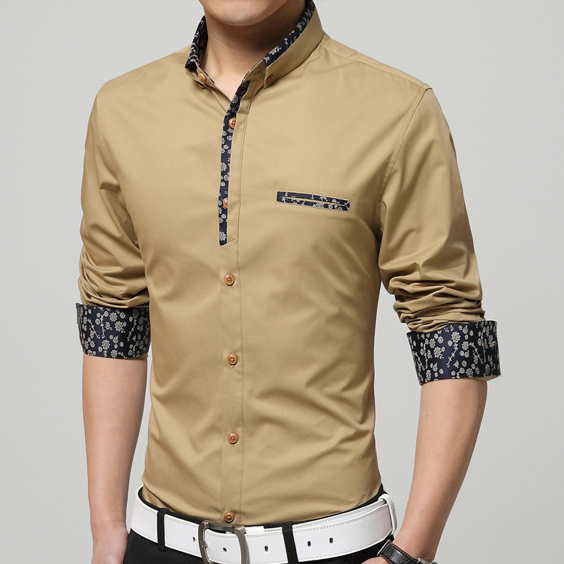 Fancy shirts for men custom shirt for Mens dress shirt sizing