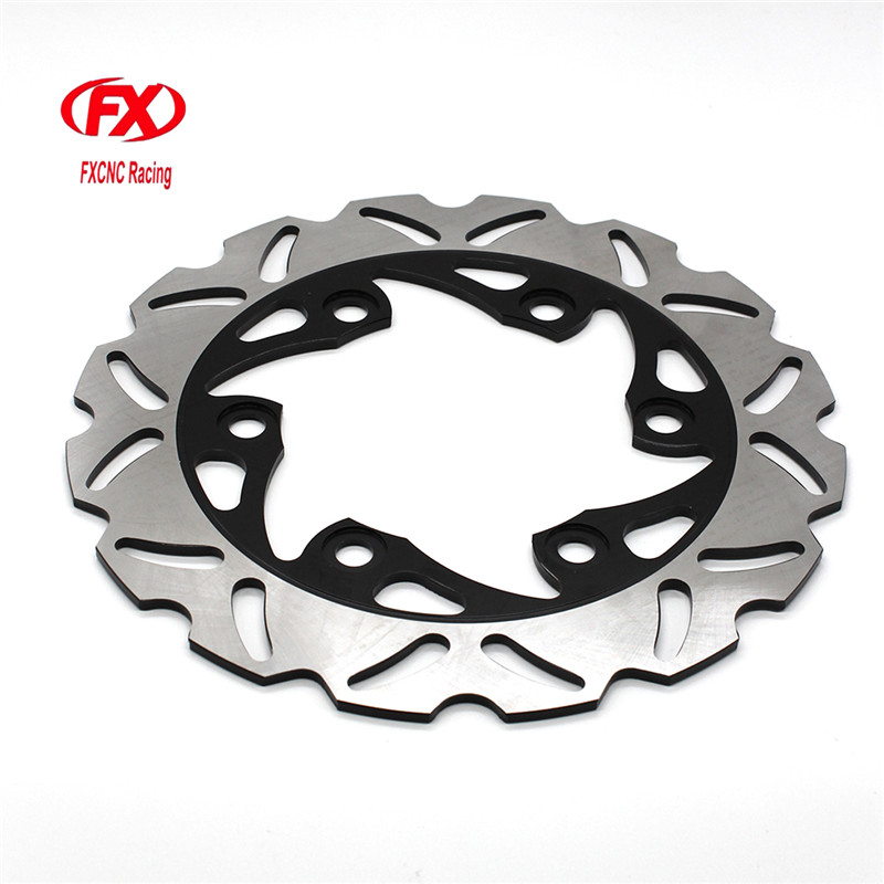 FX CNC Motorcycle Brake Disks Rear Brake Disc Rotor For KTM 125 200 390 DUKE 2013 - 2016 2015 Motorbike Rear Brake Disc Rotor for ktm 390 duke motorcycle leather pillon passenger rear seat black color