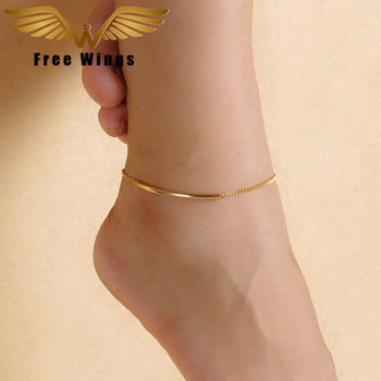 Ankle Bracelet Feet Leg Chain Metal Barefoot Sandals Anklets For Women Beach Accessories Bohemian Gold Anklet Foot Jewelry 1D5 brassiere