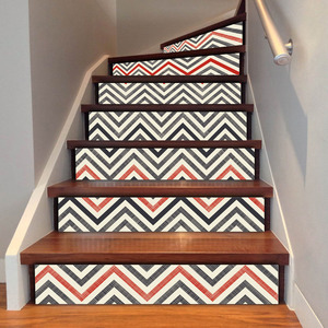 Image 5 - Modern Home Decoration Self adhesive 3D Stairs Stickers Decoration Attic Art Stickers Home Decor Vintage Poster